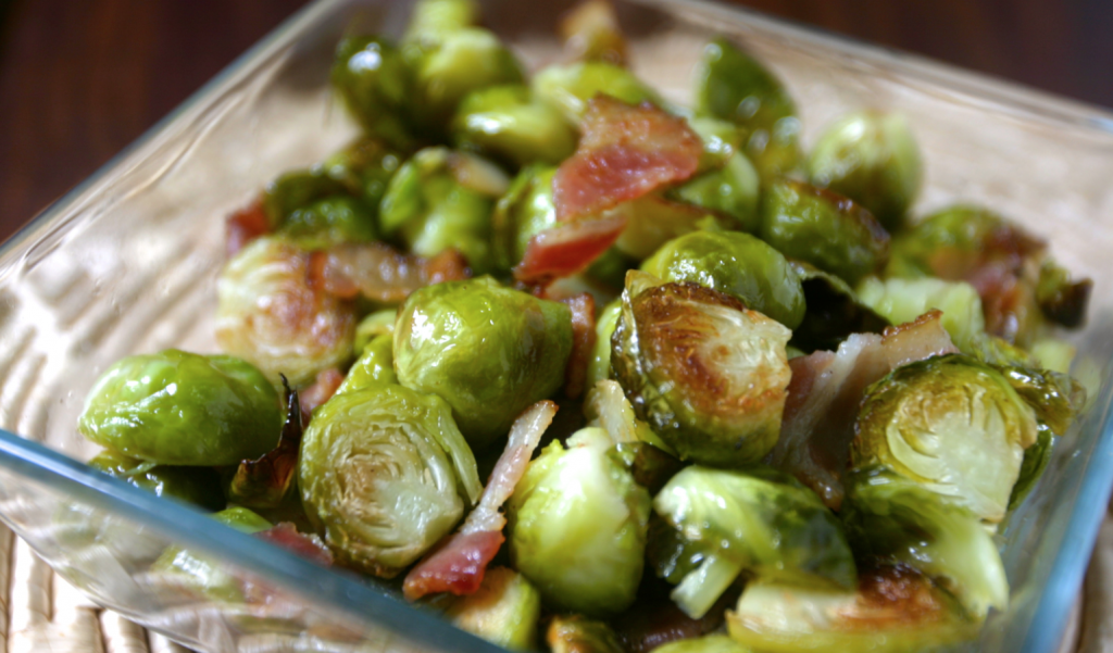 bacon brussels sprouts recipe image